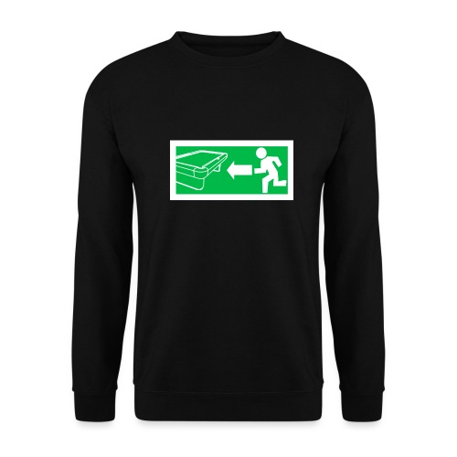 "Billard Shirt ""Notausgang Billard"" - Pool Billard - Männer Pullover"