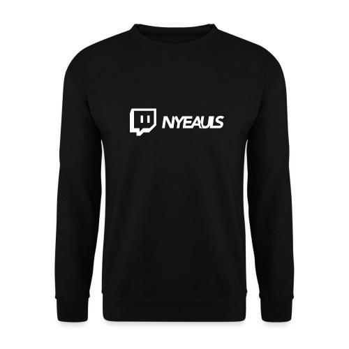 nyeauls twitch white png - Unisex sweater