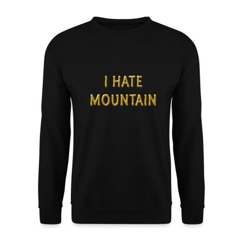 hate mountain - Männer Pullover
