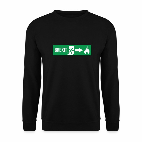 Fire Brexit - Men's Sweatshirt