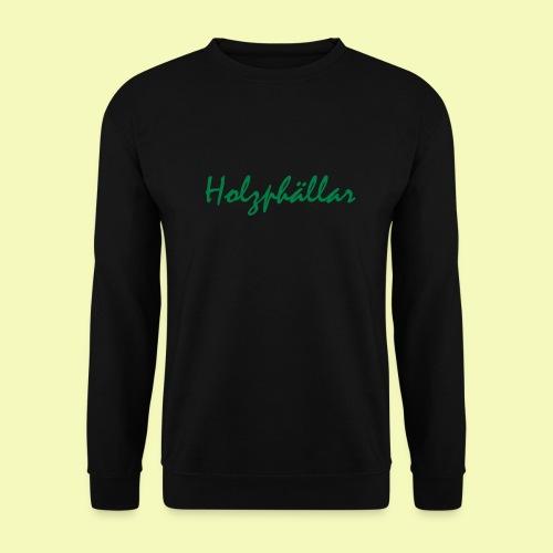 Schriftzug Grün - Männer Pullover
