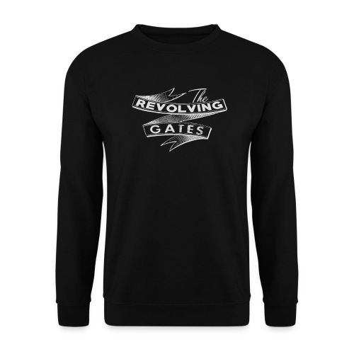 Rock n roll t-shirt by the Revolving Gates - Men's Sweatshirt