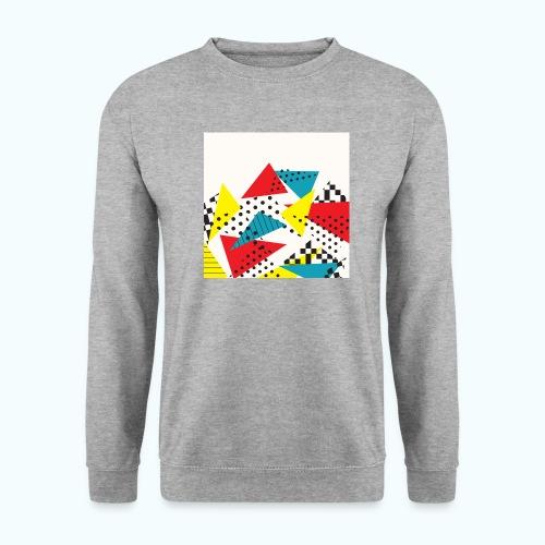 Abstract vintage collage - Men's Sweatshirt