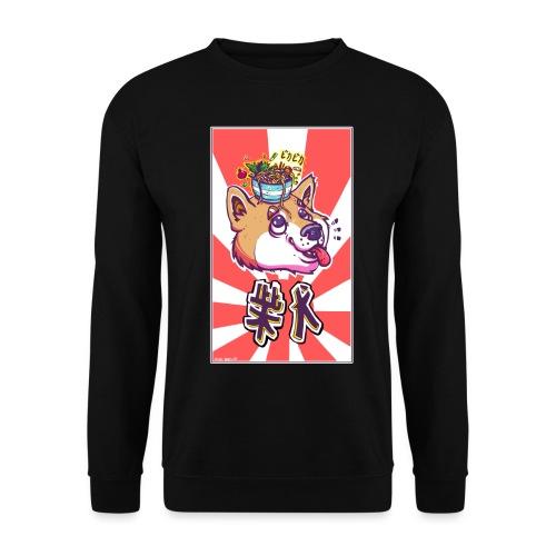 Shiba soleil levant - Sweat-shirt Unisexe