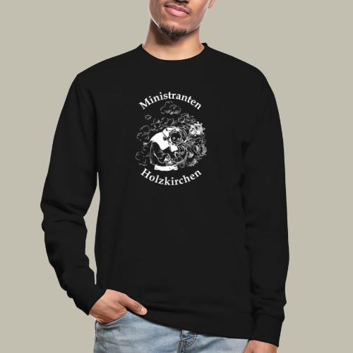 Minilogo Weiß - Unisex Pullover