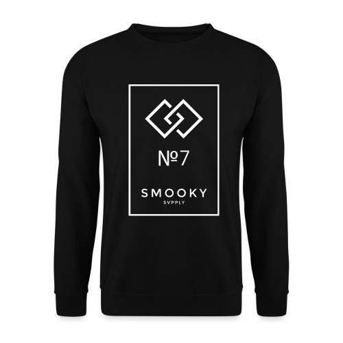 Smooky Chanel white png - Unisex Pullover