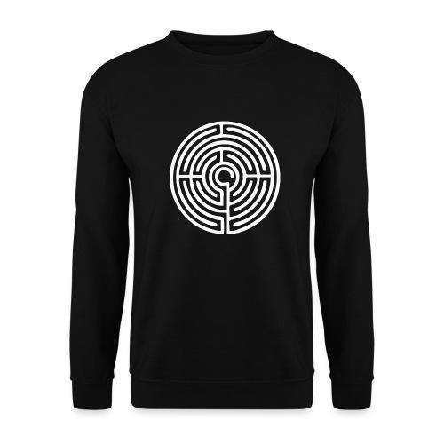 Labyrinth Schutzsymbol Lebensweg Magie Mystik - Unisex Pullover