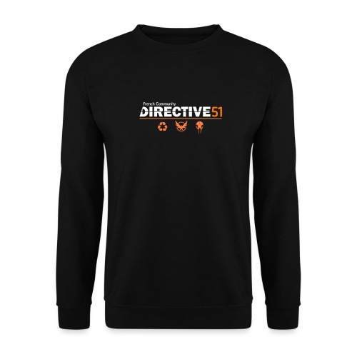 D51recy png - Sweat-shirt Homme
