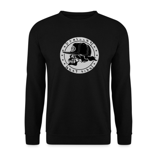skull 13 milles noir et gris super design - Sweat-shirt Unisex