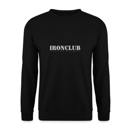 IRONCLUB - a way of life for everyone - Genser for menn