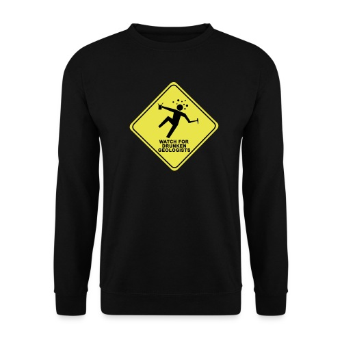 watch for drunken geologists english l - Sweat-shirt Homme