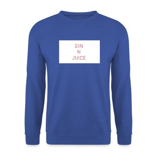Gin n juice geschenk geschenkidee - Unisex Pullover