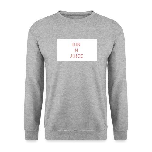 Gin n juice geschenk geschenkidee - Männer Pullover