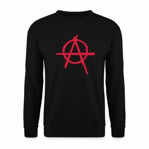 Anarchie Symbol Anarchy Zeichen Punk Logo A Icon - Männer Pullover
