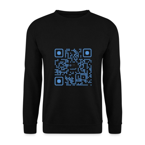 QR Maidsafe.net - Men's Sweatshirt