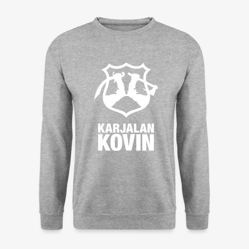 Karjalan Kovin Iso logo - Unisex svetaripaita