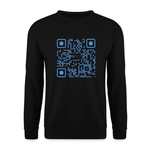QR Maidsafe.net - Unisex Sweatshirt
