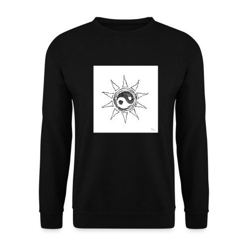 sole yin yang - Felpa da uomo
