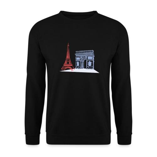 Paris - Sweat-shirt Unisexe