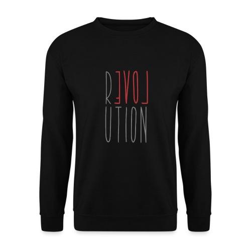 Love Peace Revolution - Liebe Frieden Statement - Unisex Pullover