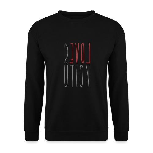 Love Peace Revolution - Liebe Frieden Statement - Männer Pullover