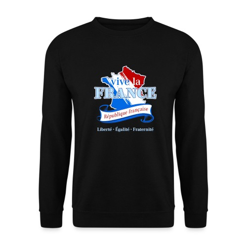 vive la France Frankreich République Française - Men's Sweatshirt