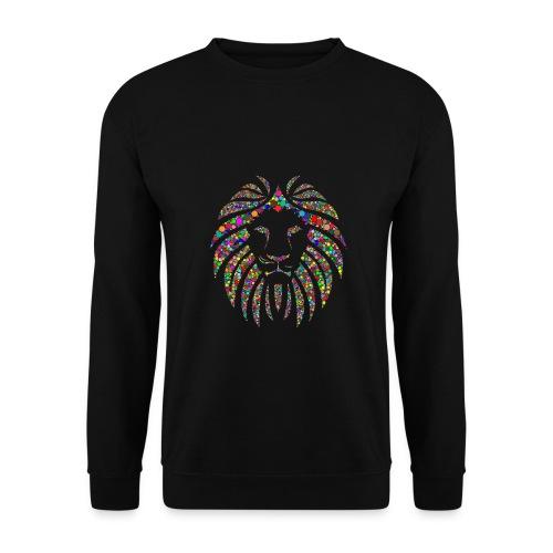 Ausdruck des Löwen - Männer Pullover