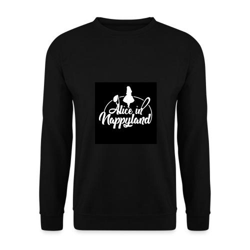 Alice in Nappyland TypographyWhite 1080 - Men's Sweatshirt