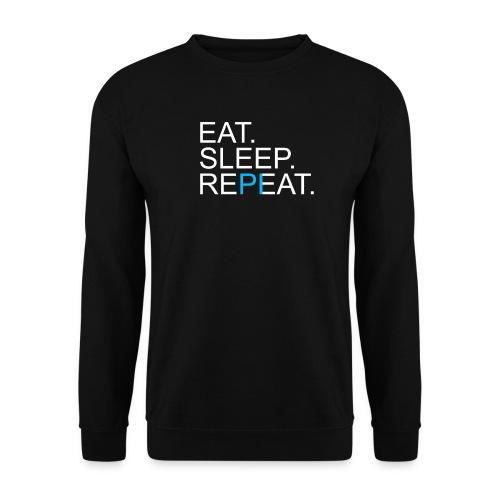 Eat Sleep Repeat PI Mathe Dunkel - Unisex Pullover