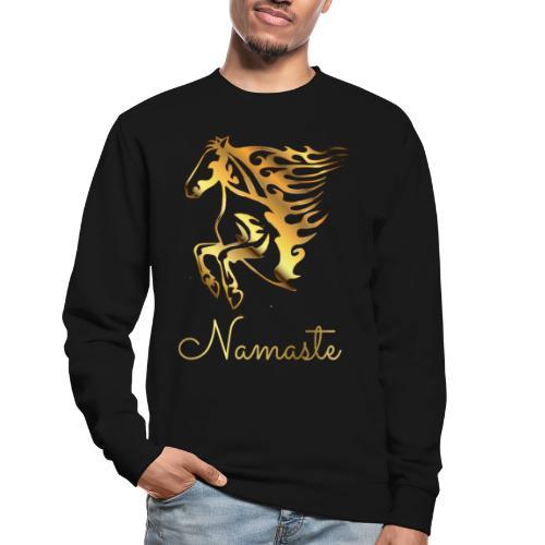 Namaste Horse On Fire - Unisex Pullover