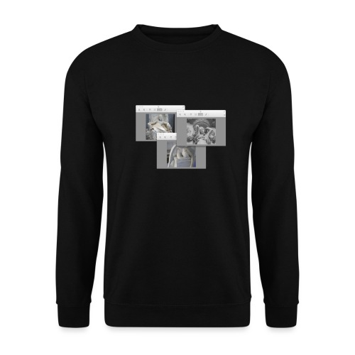 Girl Art Scape - Men's Sweatshirt
