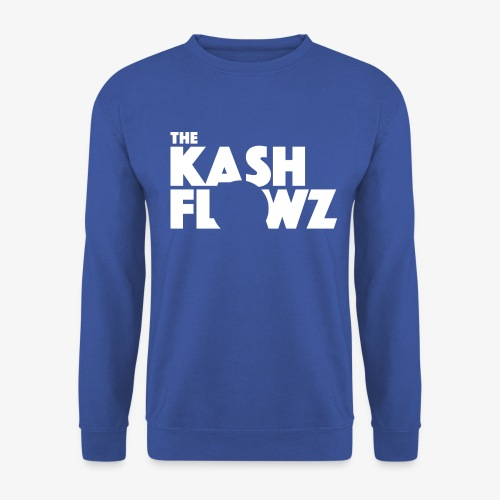 The Kash Flowz Official Logo White - Sweat-shirt Homme