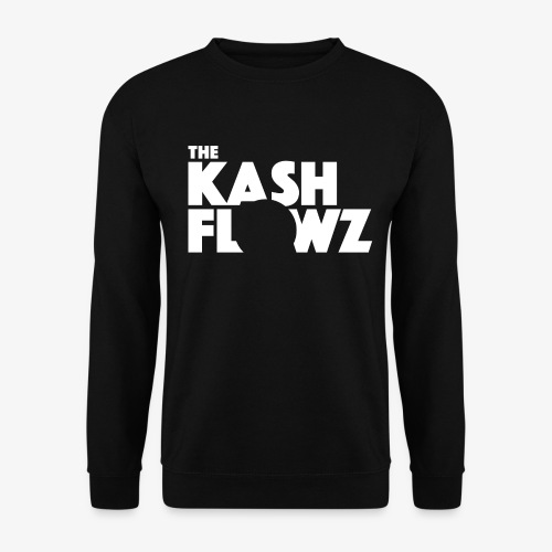 The Kash Flowz Official Logo White - Sweat-shirt Unisex