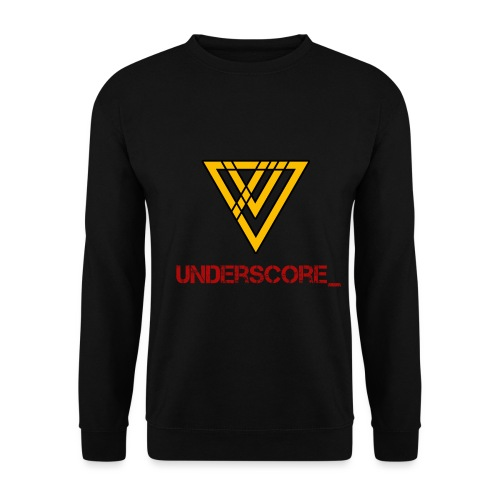 Underscore Yellow Red - Men's Sweatshirt