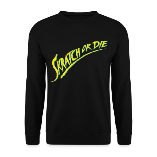 Skratch or Die logo - Unisex Sweatshirt