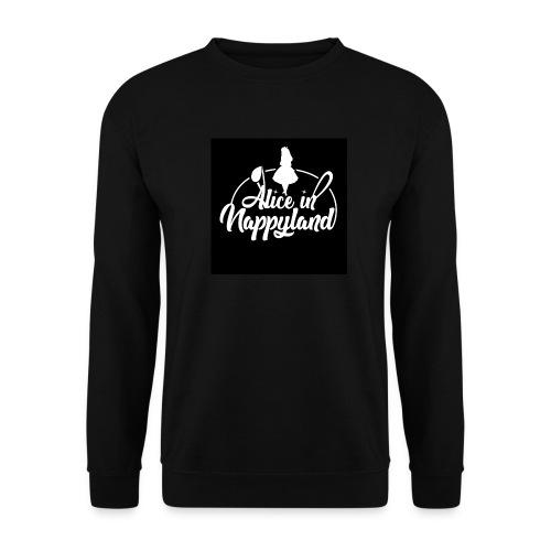 Alice in Nappyland TypographyWhite 1080 - Unisex Sweatshirt
