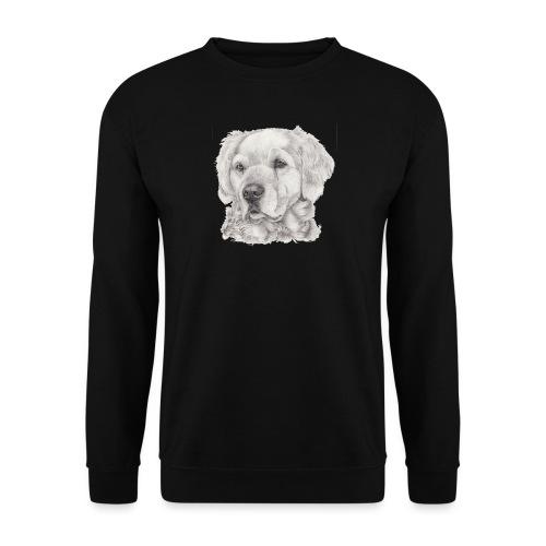 golden retriever - Herre sweater