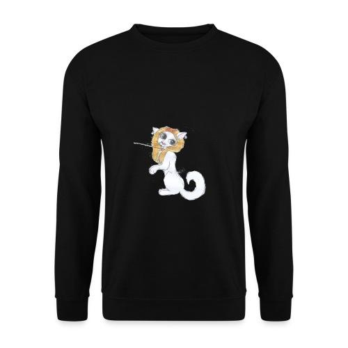 Comic Katze - Männer Pullover
