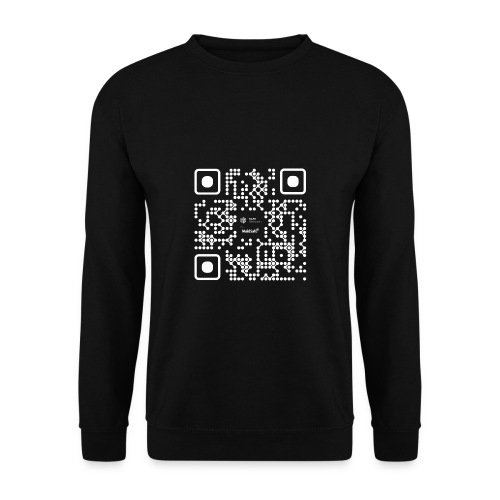 QR - Maidsafe.net White - Men's Sweatshirt