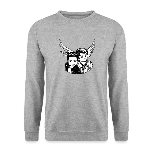Destiel i sort/hvid - Herre sweater