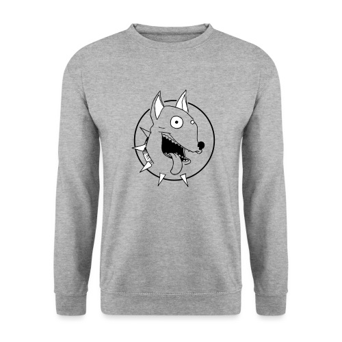 chien fou - Sweat-shirt Unisex