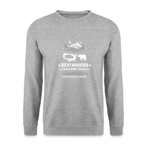 Rocky Mountain Nationalpark Berg Bison Grizzly Bär - Unisex Sweatshirt