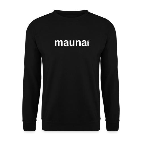 Mauna one schlicht, Geschnekidee, Geschenk - Unisex Pullover