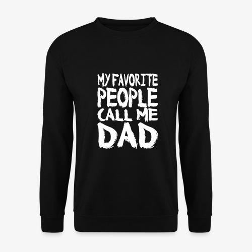 Call me DAD Vatertag Geschenk - Männer Pullover