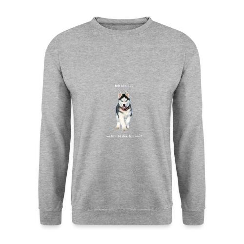 Husky Welpen mit bezaubernden Augen - Männer Pullover