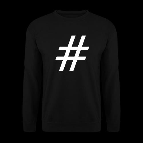 Hashtag Team - Männer Pullover