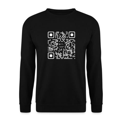 QR - Maidsafe.net White - Men's Sweatshirt