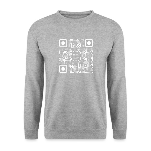 QR - Maidsafe.net White - Unisex Sweatshirt