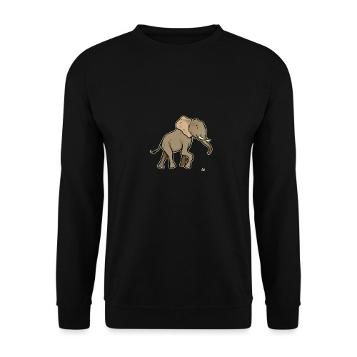 African Elephant (black edition) - Sweat-shirt Homme