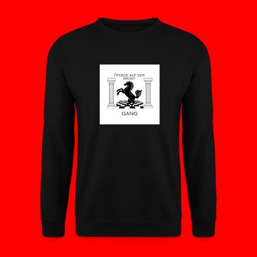 Pferde Auf Der Brust Gang - Männer Pullover